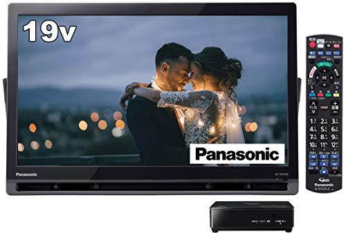 パナソニック 19V型 ポータブル 液晶テレビ インターネット動画対応 プライベート・ビエラ ブラック UN-19FB10-K