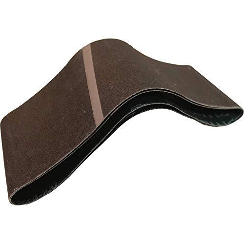 Makita 742322-9 4-Inch x 24-Inch Abrasive Sanding Belt, 80 Grit (10/Pk)