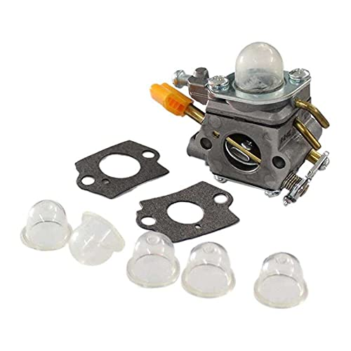 Gmasuber Carburador con Junta Primer Bombilla para Ryobi Homelite String Trimmer Brushcutter 308054077 RY28101