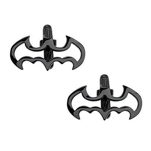INOX DC Comics The Batman Logo Stainless Steel Cuff Links