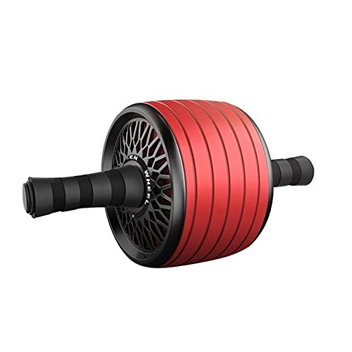 SADDPA Yoga-Hosen, 1Pcs Ab Roller Rad Muskel-Übungs-Equipment Rad-Abdominal Power Wheel Ab Roller for Arm Taille Bein Übung Werkzeuge (Color : Red)
