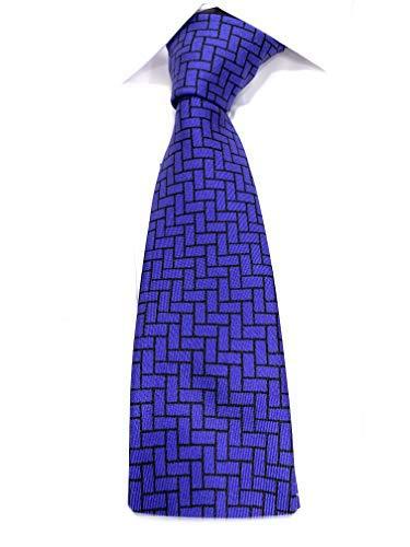 Emporio Armani CRAVATTA FANTASIA OPTICAL BLUETTE 144 x 7,5 cm