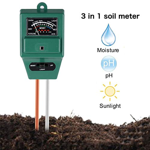 Fantastic Prices! SummarLee 3 in 1 Soil Tester, Plant Humidity/Light/Ph Acidity Meter Tester for Soi...