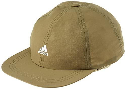 adidas Run LT PB Hat, Focus Olive/White, OSFW Unisex-Adult