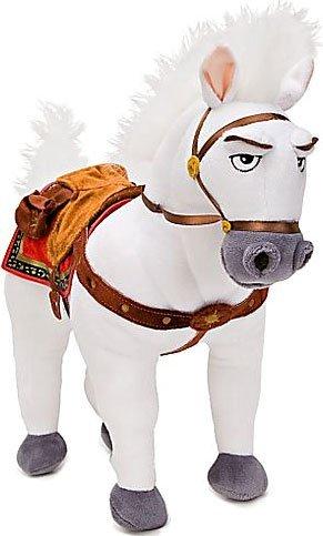 Disney Store Peluche Medio Originale Cavallo Maximus Capo Guardia Reale Rapunzel L'intreccio Della Torre Principessa