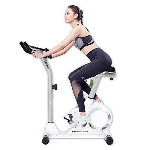 N/Q Upright Cyclette -Piscina Studio Cicli Aerobic Training Fitness Cardio Bike, Versione Magnetica Resistenza Cyclette Regolabile Resistenza 4kg volano, Equitazione Tranquillo