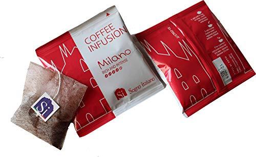 Si Coffee Kaffeebeutel Milano Italian Blend (Packung mit 50 Kaffeebeuteln wie Teebeutel, einzeln verpackt)