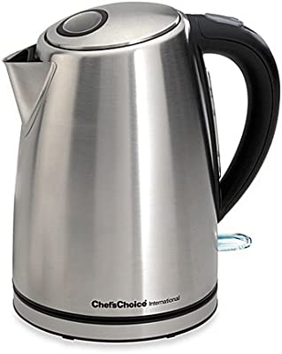 Chef'sChoice International Electric 1 3/4-Quart Kettle - Brushed Stainless steel