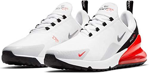 Nike Air MAX 270 G White/Cool Grey-Neutral Zapatillas Golf 10 UK (45 EU)