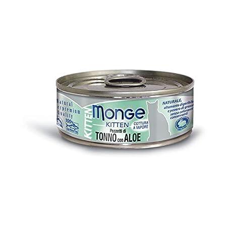 monge umido al tonno per gatti