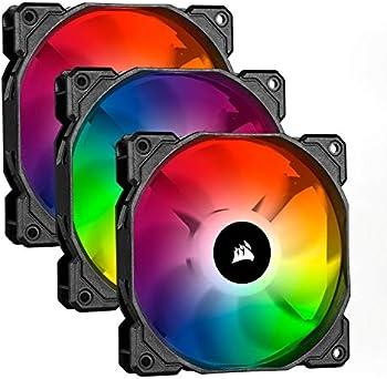 3-Pack Corsair iCUE SP120 RGB Pro 120mm ARGB Fans with Node Core