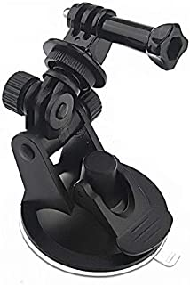 Mini Car Suction Cup Base Holder Tripod Mount Adapter for GoPro HD HERO 1 2/3