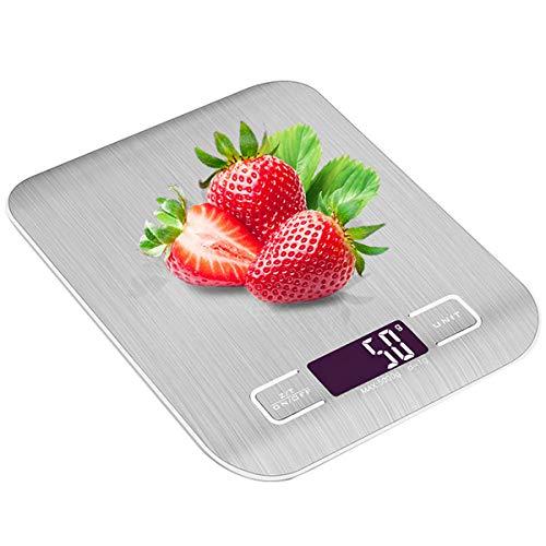 キッチンスケール はかり デジタル スケール 計量器 計り 測り 料理 電子はかり 最大計量5kg 電子秤 クッキング 小型 コンパクト 精密 風袋引き機能 自動オフ 多用途 Evaduol