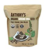 Anthony's Organic Ground Chia Seed, 1 lb, Finely...