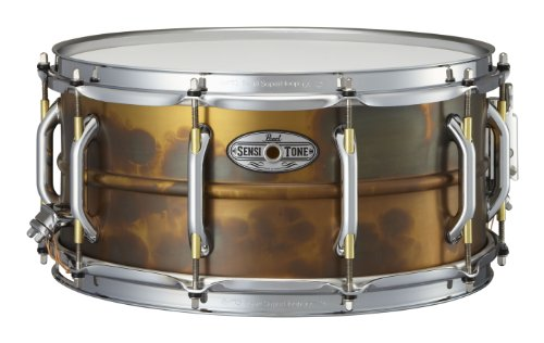 "Pearl 14"" Brass Snare Drum"