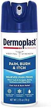Dermoplast Burn, Itch & Pain Relief Spray 2.75 Oz