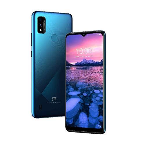 ZTE Blade A51 - Smartphone Pantalla HD+ de 6.52', cámara Dual de 13MP + 2MP, Memoria 2GB + 32GB, Color Azul
