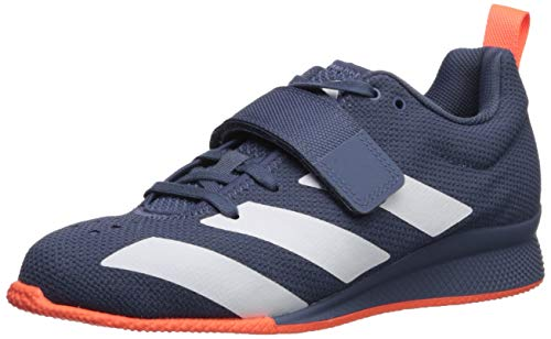 adidas Women's Adipower Weightlifting II Cross Trainer, tech Ink/White/hi-res Coral, 12.5 M US