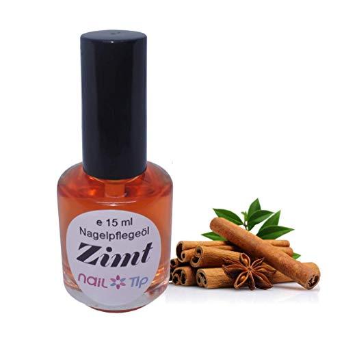 Nagelpflegeöl Zimt | Farbe: Orange | flüssig | 15 ml | Zimtduft | Cuticle Oil