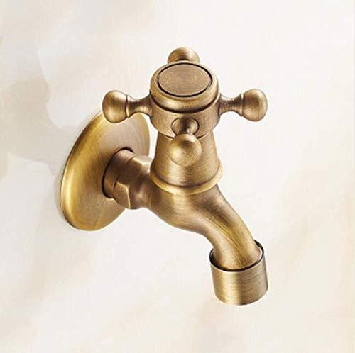 Xihouxian Küche/Waschmaschine einzigen kalten antiken Wasserhahn/Kupfer Material/langlebig korrosionsbeständig/antike gebürstet, altes Handwerk E20