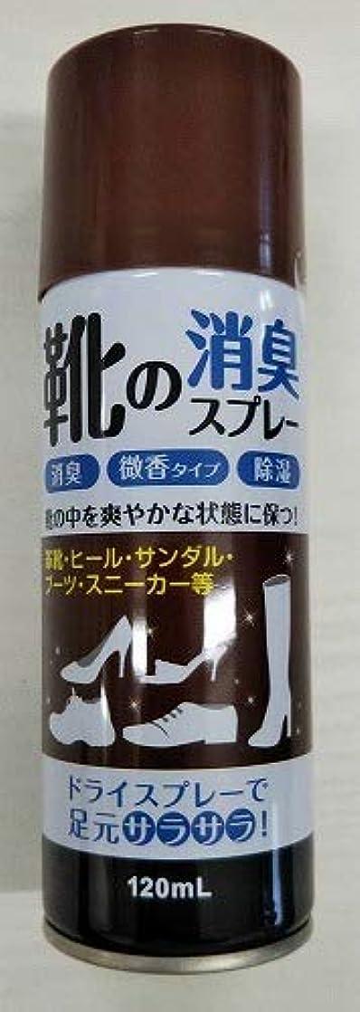 円形悲惨な天窓【◇】靴の消臭スプレー120ml 微香性 足元さらさら!消臭?除湿など効果!