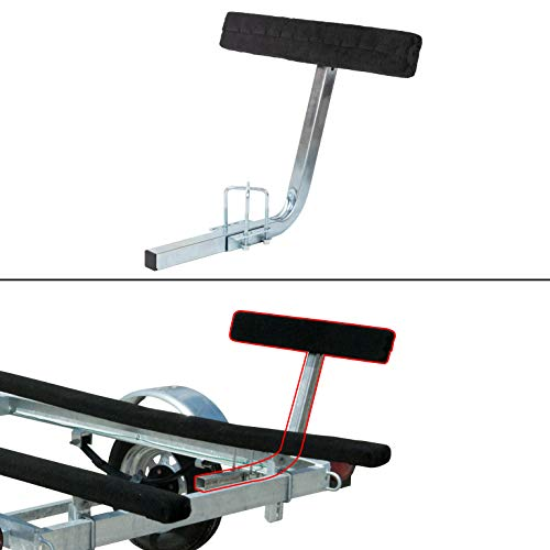 ECOTRIC Boat Trailer 2' Side Guide Bunk Board Guide-On Carpeted Kit w/Hardware