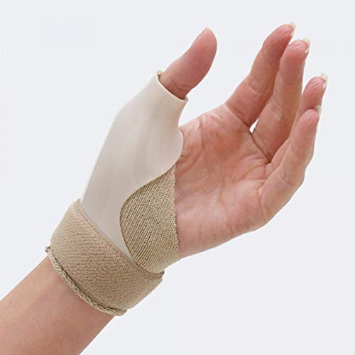 TIELLE CAMP - Pollix: tutore per l'immobilizzazione dell'articolazione trapezio-metacarpale in polietilene - Large, Destra