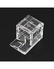 BLENGA Kwadrat konstrukcja mrówek podajnik wody plastikowy przezroczysty mrówka gospodarstwo pole do karmienia dla owadów gniazda mrówek edukacyjnych prezent dla dzieci