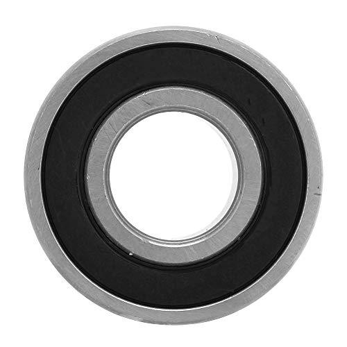 Rodamiento de Ranura Profunda - 10 Piezas 6202-2rs Rodamientos de Bolas de Acero de Ranura Profunda Sellados de Goma de Doble cara 15x35x11 mm