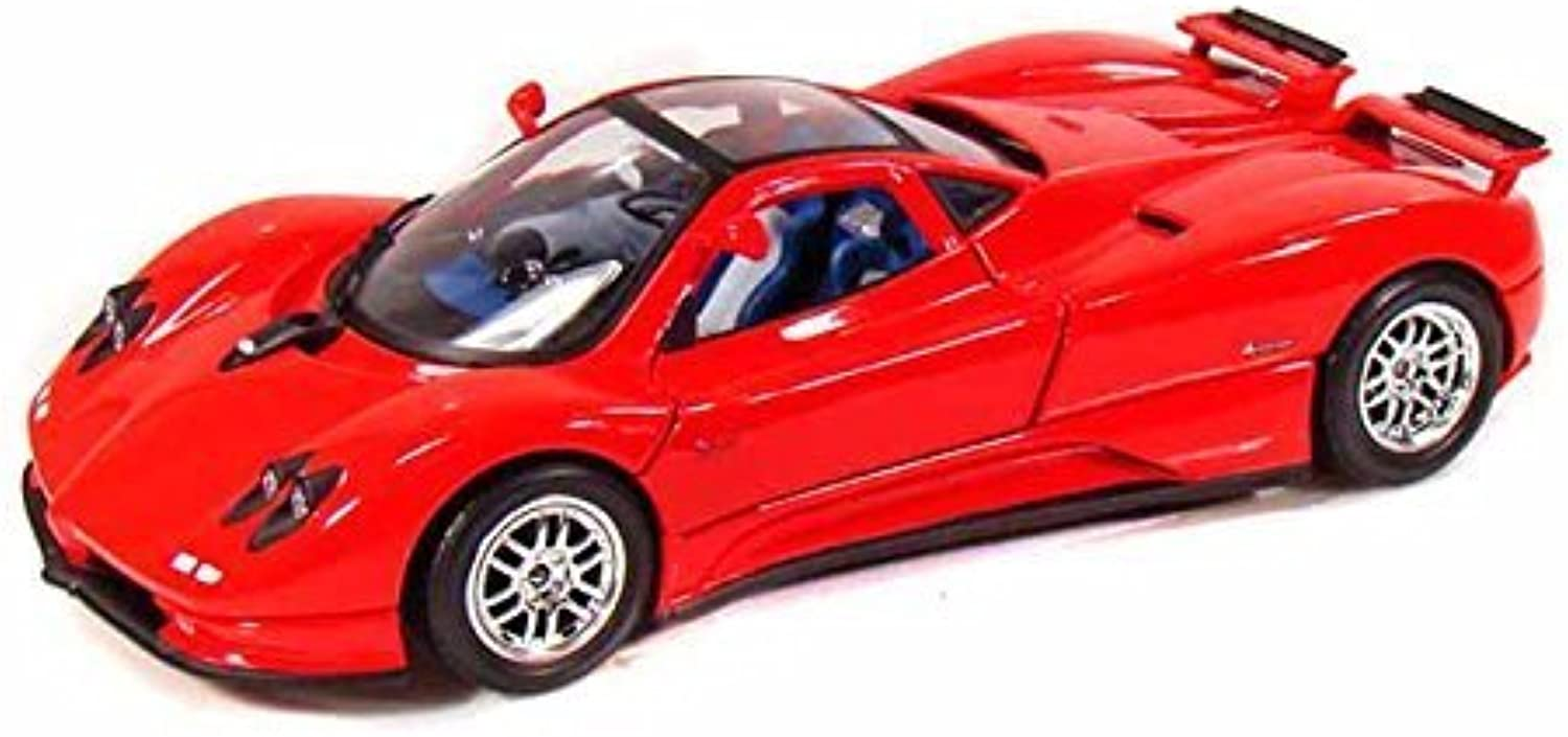 MotorMax Pagani Zonda C12 1 18 rot by Collectable Diecast