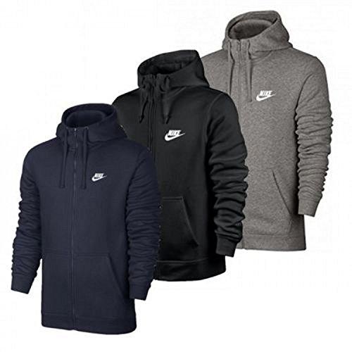Nike Club FZ Hoody-Swoosh Felpa con Zip