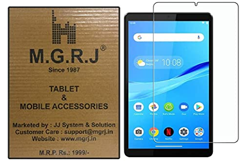 M.G.R.J® Tempered Glass Screen Protector for Lenovo Tab M8 HD / M8 (3rd Gen) / Smart Tab M8 / Tab M8 FHD (2019) (TB-8705F/N, TB-8505F/X)