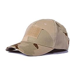 Ever Fairy Casquette de Baseball Militaire Army Tactical Camouflage Hat Peaked Cap pour Wargame Chasse Pêche Jeux de…