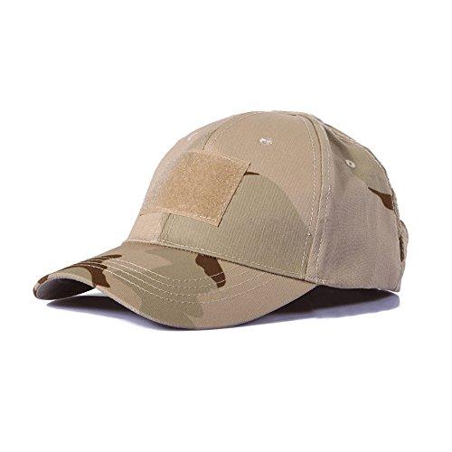 Ever Fairy Berretto da Baseball tattico dell'Esercito del Cappello da Baseball tattico Militare dell'Esercito per la Caccia di Wargame Che Pesca i Giochi all'aperto (Desert Camouflage)