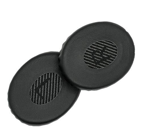 Premium Ersatz SoundLink On-Ear-Ohrpolster, kompatibel mit Bose SoundLink On-Ear-Kopfhörern, Bose On-Ear-Wireless, Bose On-Ear-2 (OE2) und Bose SoundTrue On-Ear-Kopfhörer (Triple Black)