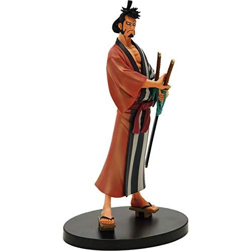 FIGURE ONE PIECE DXF THE GRANDLINE MEN WANOKUNI KIN EMON VOL 4 REF: 20395/20396