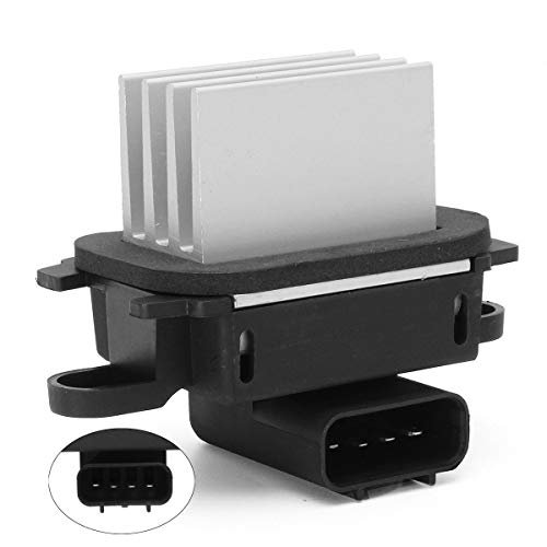 HVAC Blower Motor Resistor AC Blower Control Module - Compatible with 2010-2017 Ford Expedition 2010-2014 Ford F-150 2011-2017 Lincoln Navigator Auto Temp Control - Replace # BL3Z-19E624-A YH-1829