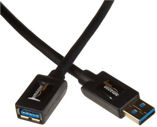Amazonベーシック USB3.0延長ケーブル 2.0m (タイプAオス- タイプAメス)