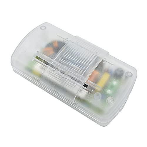 Christoph Palme Leuchten Trafodimmer 20-60 Watt 230V/12V Halogen Transparent 5500 RL7310 Trafo-Schnurzwischendimmer