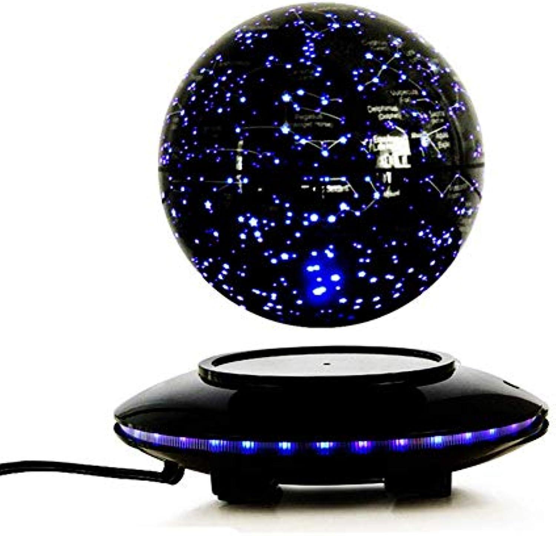 6  Globus Magnetschwebebahn In der Luft schweben Mit Touch Control Platform und LED-Leuchten Für Weihnachtsgeschenke Dekoration für den Unterricht