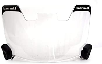 Barnett Football and Lacrosse Helmet Eye-shield Visor, Clear
