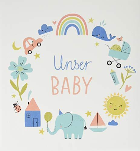 Babyalbum - Unser Baby (Alben & Geschenke fürs Baby)