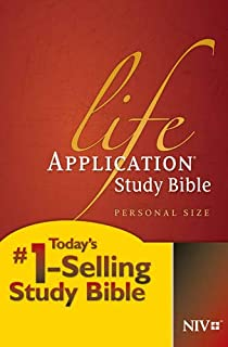 NIV Life Application Study Bible, Second Edition, Personal Size (Softcover)