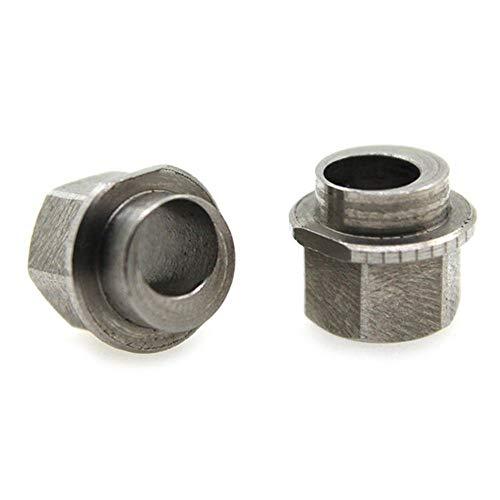 YJIA Le Bore 5mm Entretoise Excentrique V Roue Aluminium Extrudeuse 3D Imprimante Reprap Accessoires d'imprimante 3D