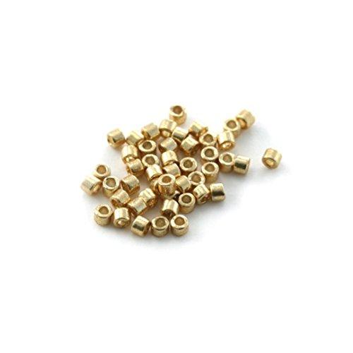 Perline Miyuki Delica, misura 11/0, 5 g, rif. DB-1832, colore: oro galvanizzato
