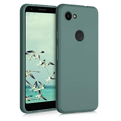 kwmobile Hülle kompatibel mit Google Pixel 3a - Handyhülle - Handy Case in Blaugrün