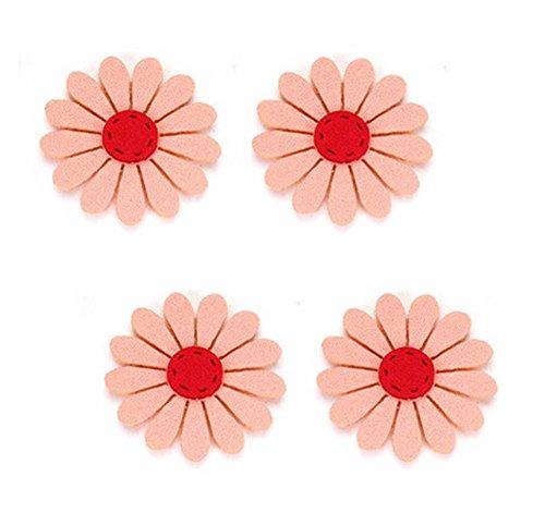 Set de 4 Clip Magic Stick Cheveux Griffe/cheveux spécial, Orange