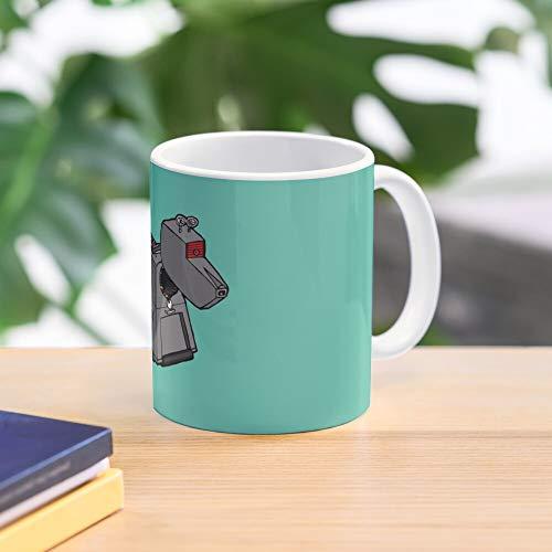 Who Doctor Dogs Robots 9 Fanart K Sci Fi Best 11 Ounce Ceramic Coffee Mug Gift