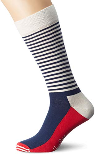Happy Socks Unisex - Erwachsene Socken SH01, Gr. 36-40, Mehrfarbig (068)