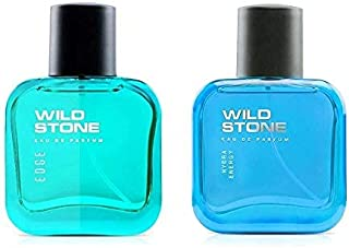 Wild Stone Edge and Hydra Energy Perfume Combo for Men 30ml (Pack of 2)